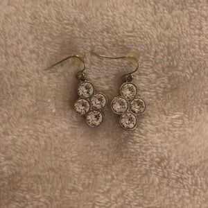 Swarovski Clear Dangle Earrings